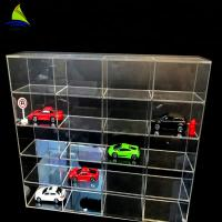 China Commercial Acrylic Wall Display Case Toy Car Acrylic Display Toys Showcase Wall Mount on sale