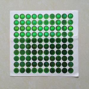 China Custom printing peel off laser sticker, wholesale prices label sticker printing, 3D label sticker printing on sale