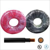 Best Halogen Free Solar PV Cable UV Resistant 12 AWG Solar Cable UL4730 Approval wholesale