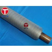 Best Stainless Steel Extruded Fin Tube Astm A213 For Boiler Heat Exchange wholesale