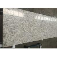 Best Natural Stone Looking Quartz Composite Worktops , Custom Cut Stone Table Top wholesale