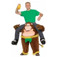 Best Brown Yellow Green Riding Animal Mascot Costumes Monkeying Around Costume wholesale