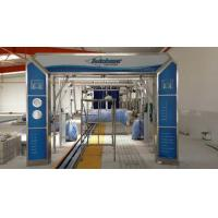China Autobase Tunnel Car Wash Systems Machine , Swing Arm Top Brush And Bumper Cleaning wholesale