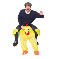 Best Polyester / Spandex Halloween Man Riding Chicken Costume With Embroidery Logo wholesale