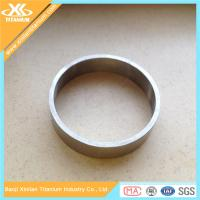 China High Strength Pure And Alloy Titanium Rings on sale