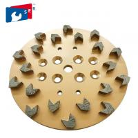 Best Dry Grinding Arrow Diamond Cup Wheel with Alloy Material for Concrete Floor wholesale