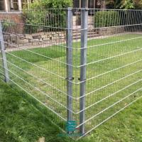 Best Security Fencing PVC Coated 2D Metal Mesh Fence Panels Garden Fencing China wholesale