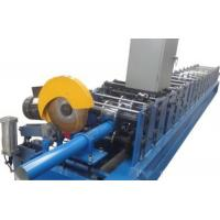 China Full Automatic Downspout Roll Forming Machine With 0 - 15m / Min Forming Speed on sale