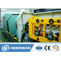 China High Speed Ribbon Fiber Optic Cable Production Line With Four / Six / Twelve Fibers on sale