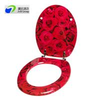 China BSCI certified China direct manufacturer! Soft close hinges Urea toilet seat on sale