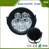 Cheap 6.2 Inch 70W LED Work Light Flood off Road SUV 4WD ATV Truck Car Super Bright for sale