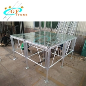 Best 1.22*1.22m 6082 Aluminum Stage Platform For Outdoor Performance wholesale