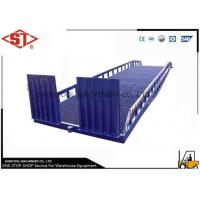 China 10ton Loading Dock Ramps For Trailers / Forklift Loading Cargos on sale