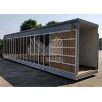 Best 50-100sqm Prefab Movable Homes  , Steel Frame Prefabricated Houses wholesale