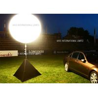 Best 1.2 M Night Work Event Space Lighting Moon Balloon With 2000 W Metal Halide Lamp wholesale