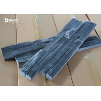 Anti - Skid Nature Slate Cultured Stone , Exterior Slate Wall Cladding Panels