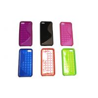 China Plastic TPU Cell Phone Protective Cases In Red For iPhone 5c on sale