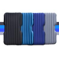 Best Christmas Gift Inflatable Single Airbed Mattress Multifunctional Flocked Backseat Air Bed for Car truck wholesale