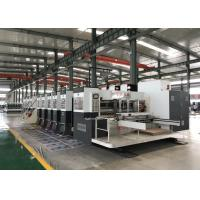 Best Professional Flexo Printer Slotter Die Cutter Similar Printing Quality With Offset Printer Machine wholesale