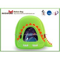 Buy cheap Green Neoprene Mini Children School Bags Easy Clean With Zoo Animal from wholesalers