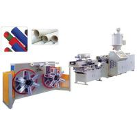 Cheap Single wall corrugated pipe extrusion line for sale