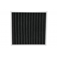 Best Eliminate Peculiar Smell Pleated Panel Activated Carbon Deodorizer Air Filter wholesale