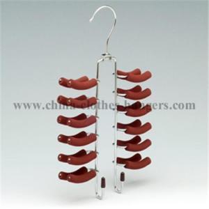 China Metal Foam Coated Belts & Tie Hanger on sale