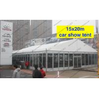 Best Outdoor Exhibition Tent/PVC Fabric Roof Exhibition Canopy Glass Walls wholesale