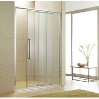 Best One Fixed Two Movable Shower Glass Door Sliding Shower Screen Non-standard Order wholesale