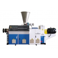 China Twin Screw 1000mm Pvc Pipe Extrusion Machine on sale