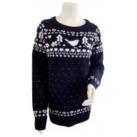 Best Fairisle Jumper Ladies Pullover Sweaters Pullover Fashion Sweaters Daily Life Available wholesale