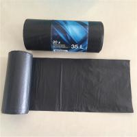 China 55 - 60 Gallon Recyclable Rubbish Bags , Custom Printed Biodegradable Bin Liners on sale