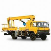 Best 12 to 14m Four-door High-altitude Operation Truck with 2,999mL Displacement and Dongfeng Engine wholesale