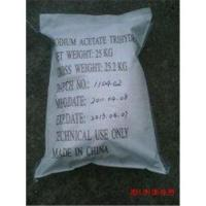 China Sodium Acetate Trihydrate CAS NO. 6131-90-4 on sale