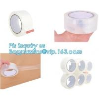 Best High Adhesive 48mm*100Y Hot Product Clear Bopp Tape,BOPP parcel packing tape for carton sealing,carton sealing tapes pac wholesale