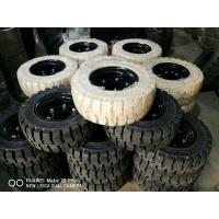 Best Solid Forklift Tires 10 - 28 Forklift Spare Parts Low Speeding High Pressure Performance wholesale