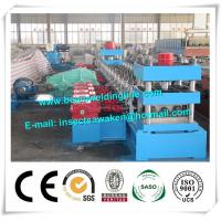 China 3 Waves Cold Rolled Steel Silo Forming Machine With 17 Forming Stations on sale