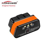 China ABS Housing Bluetooth Engine Scanner Kw901 Elm327 Auto Diagnostic Tool Obd2 on sale
