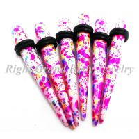 Best 12mm Ear Stretchers Tapers White For Lady wholesale