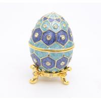 Best Easter Egg Gift Box Metal Easter Egg Gift Box Pewter Easter Egg Gift Box wholesale
