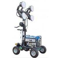 China 400Wx4 LED Lamps Mobile Lighting Tower With Yamaha Generator on sale