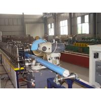China 17 Rows Rollers Round Downspout Roll Forming Machine For Tube CE Certification on sale