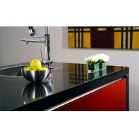 Best Artificial Stone Slab Countertop Black Galaxy Quartz Stone Kitchen Countertop SGS Approved wholesale