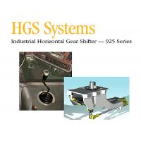 Cheap HGS System Manual Gear Shifter , Industrial Horizontal Gear Shifters for sale