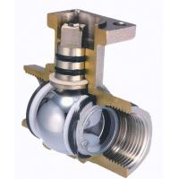 Best Floating Two Piece Ball Valve DIN / BS / ANS I/ JIS / API / ASME For Oil And Gas wholesale