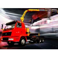 Buy cheap 5 Ton Knuckle Boom Truck Crane , Light Truck Loader Crane Cargo use product