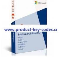 China Home and Student Microsoft Office Product Key Codes , Microsoft Office Professional Plus 2013 on sale