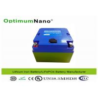 Best 30Ah 12V Lithium Battery , CE SGS Electric Golf Trolley Lithium Metal Batteries  wholesale