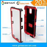 Best Anti-Shock / Screen Protector Cell Phone Protective Cases For Samsung Note 3 wholesale
