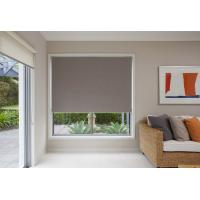 Best Motorized PVC coated blackout fabric electric retractable blinds for office wholesale